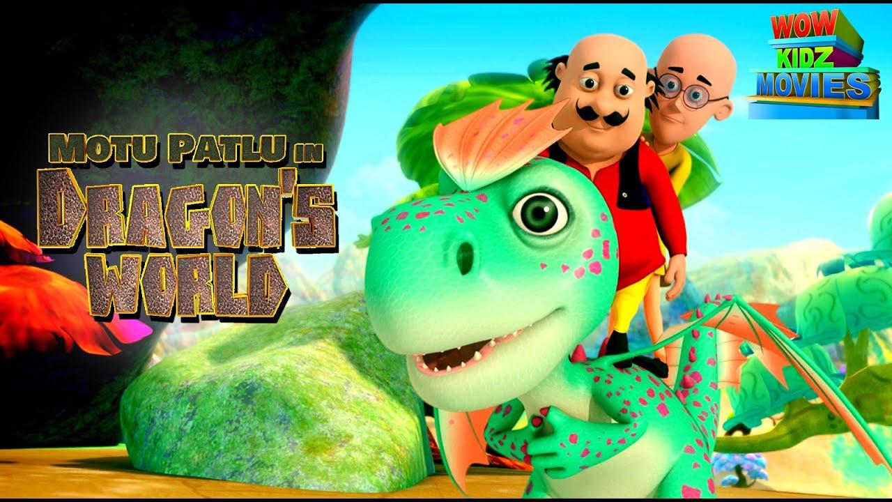 Motu Patlu In Dragon World | Full Movie | Wow Kidz