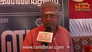 Delhi Ganesh At Inayathalam Movie Launch