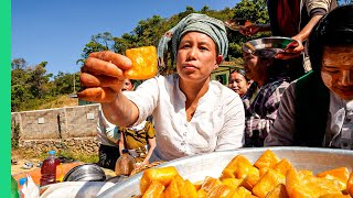 Myanmar RARE Street Food Tour!! Its Not What You Think!!