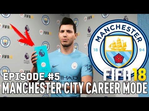 FIFA 18   Карьера тренера за Манчестер Сити [#5]   ЛУЧШИЙ ИГРОК АПЛ