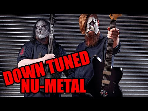 8 down tuned nu-metal guitar riffs 7 string