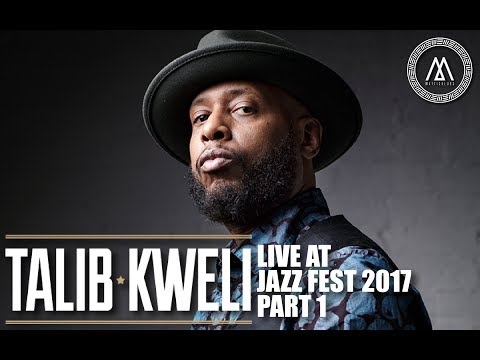 TALIB KWELI LIVE AT THE JAZZ FESTIVAL 2017 PART 1