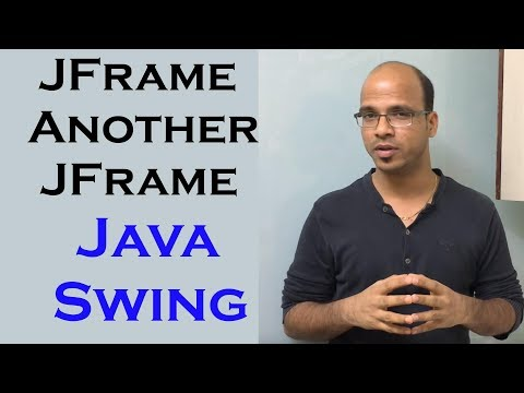 Calling a JFrame from Another JFrame in Java Swing