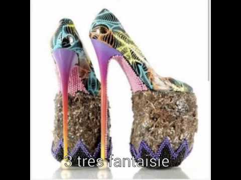 super populaire ef77e b2bf8 Top 5 des plus moches chaussure à talon au plus belle ( catégorie : plus  grand talons du monde )