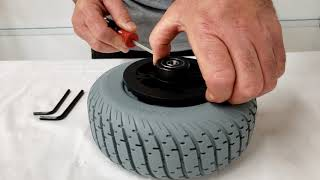 Rear Right Wheel Replacement - Travelscoot