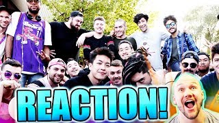 BEST BEATBOX COLLAB! SBX Camp Circle Jam BEATBOX REACTION!