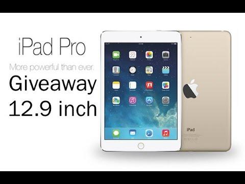 Giveaway iPad Pro 9.7