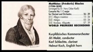 Play Clarinet Concerto No. 1 In C Major