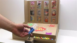 How to make a game Win a prize from cardboard How to make a ...
