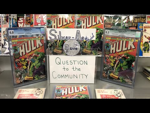 Hulk 181 Comic Haul Story, Comic Book Condition, Personal Collection, & Question to the Community #3
