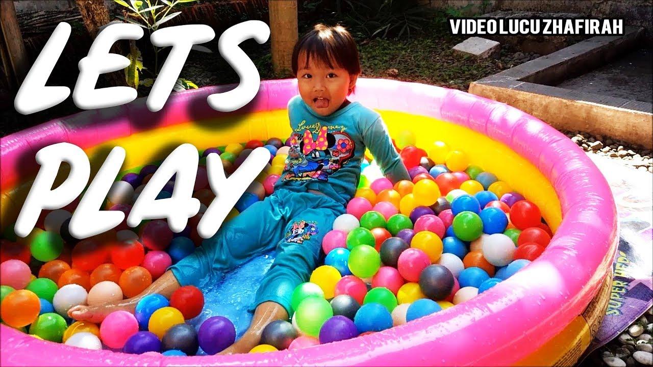 Video Mandi Bola Di Kolam Renang Plastik Anak Anak2 Intex Bestway Mini Terbaru Youtube