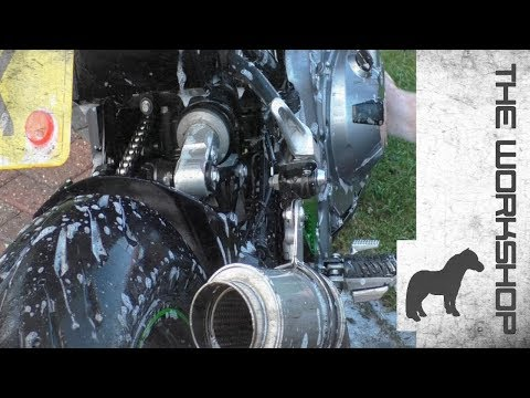 How to wash your Motorcycle - without the bullshit