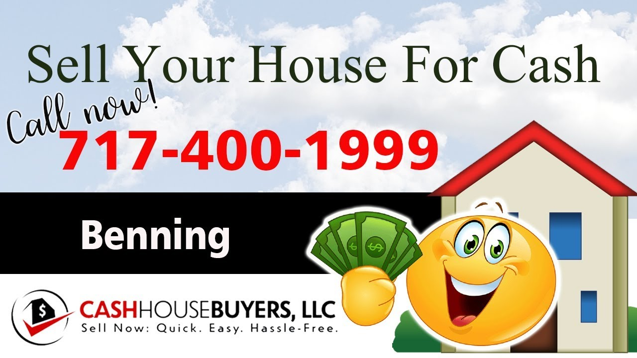 SELL YOUR HOUSE FAST FOR CASH Benning Washington DC   CALL 7174001999   We Buy Houses