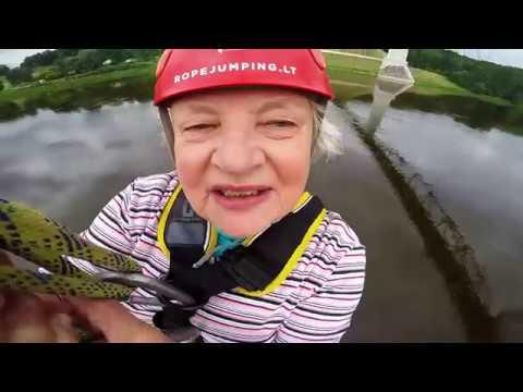 Irena Mozūraitienė | Ropejumping @ Baltosios Rožės tiltas, Alytus | www.ropejumping.lt