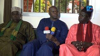 Les imams de Thiès chez Dr Pape Amadou Ndiaye