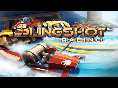Slingshot Racing iPhone/iPad Gameplay (Universal App)