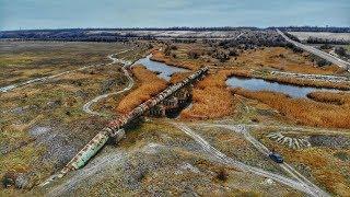 Заброшенный Канал Р-9 в районе села Садового 26.12.2018