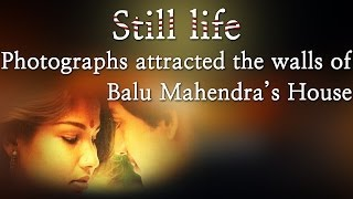 Still life - Photographs attracted the walls of Balu Mahendra