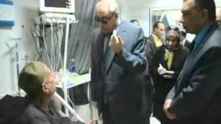 صور| محافظ المنيا يتفقد المستشفي العام ويكلف إدارة المتابعة برفع تقرير شامل