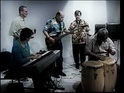 Latin Jazz in New York ,Nani moser At the Public Broadcasting Televison New York USA