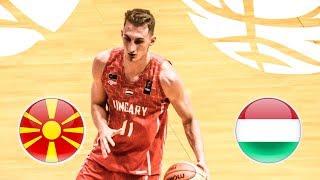 MKD v Hungary - Full Game - Class. 9-12 - FIBA U20 European Championship Division B 2018