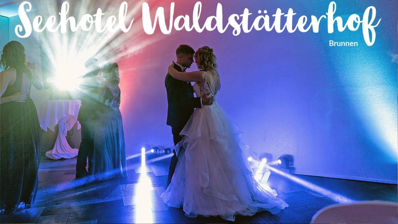 Hochzeit ♥ Heiraten im Seehotel Waldstätterhof in Brunnen im Rütlisaal -  Hochzeits DJ Benz