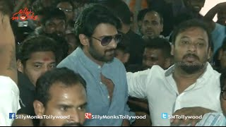 Prabhas Watches Baahubali @ Sudharshan Theatre