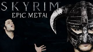 SKYRIM - Epic Metal DRAGONBORN