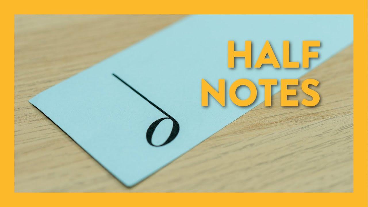 Half Notes - Piano Lesson 18 - Hoffman Academy