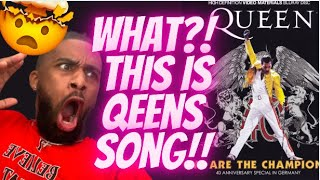 Queen We Are The Champions Official Live Video REACTION I Can't Believe This is Queens Song