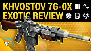 Rise of Iron: Khvostov 7G-0X Exotic Review