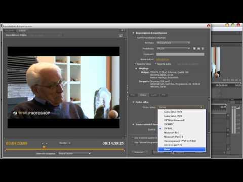 Premiere CS5 - Capire l'esportazione