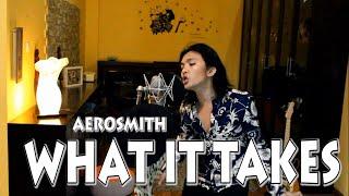 Alex Hutajulu - What it takes (Aerosmith)cover