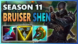 Eclipse Shen Damage is NASTY - Fighter Mythics Shen in EUW High ELO