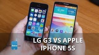 LG G3 vs Apple iPhone 5s