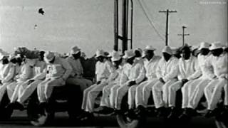 Alan Lomax - Southern prison music and Lead Belly