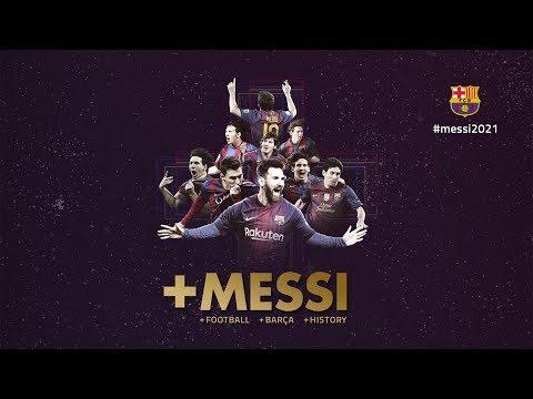 Leo Messi, a lifetime at Barça