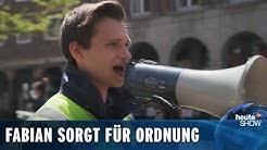 Fabian Köster greift durch – mit dem Ordnungsamt in Neuss   heute-show vom 01.05.2020