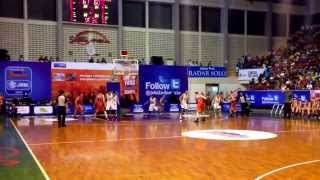 jaze morris clutch late 3 point shot vs dbl indonesia national junior boys team