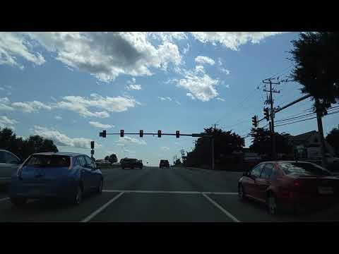 Driving from Ruckersville to Charlottesville,Virginia