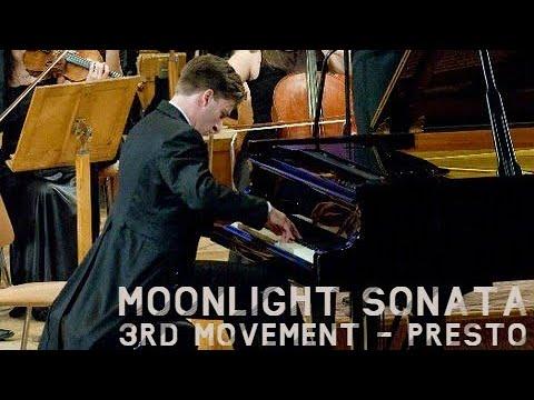 Beethoven - Moonlight Sonata 3rd Movement | Piano & Orchestra