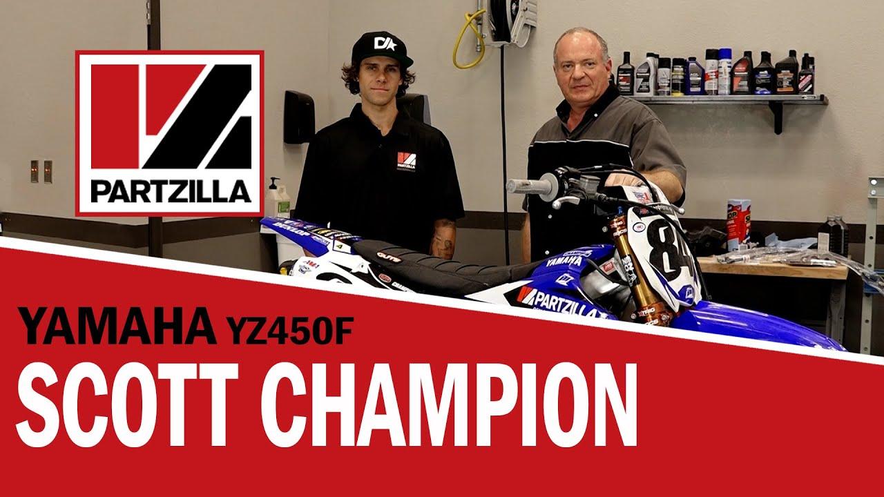 Crashed YZ450F Motorcycle Repairs: Fuel Pump, Stator   Partzilla com