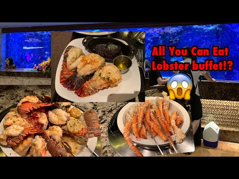 The Most Expensive Buffet? ALL YOU CAN EAT Lobster, King Crab Leg, Caviar. Sterling Brunch Worth It?