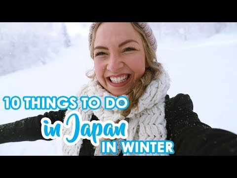 Top 10 Things To Do in Japan in Winter