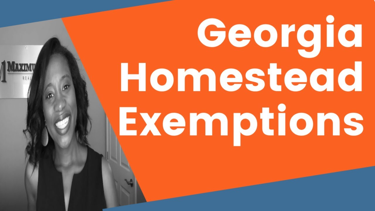 what is a homestead exemption in georgia