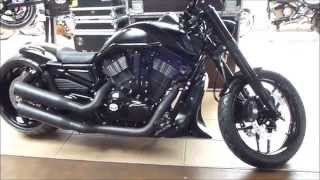 2015 harley davidson v rod muscle supertrapp exhaust see also playlist