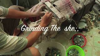 Transforming Abalone Shell into Blanks