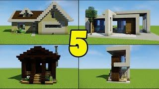 Top 5 Beginner Houses for Minecraft Builders