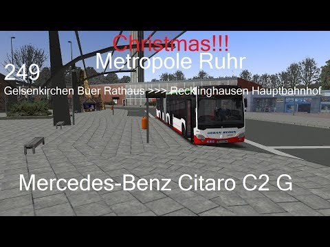 [Christmas] Len Diesel: Let's Play OMSI 2 - Metropole Ruhr - Route 249 to RE-HBF with Citaro C2 G