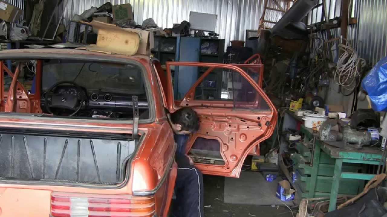 Mercedes restoration w123 видео 84 устанавливаем дверные стекла и восстанавливаем стеклоподъемники
